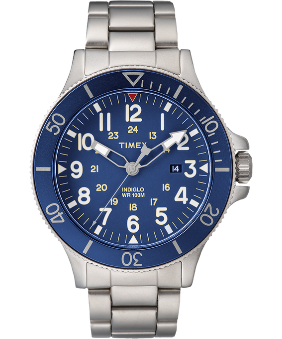 Allied Coastline 43mm Stainless Steel Watch  large