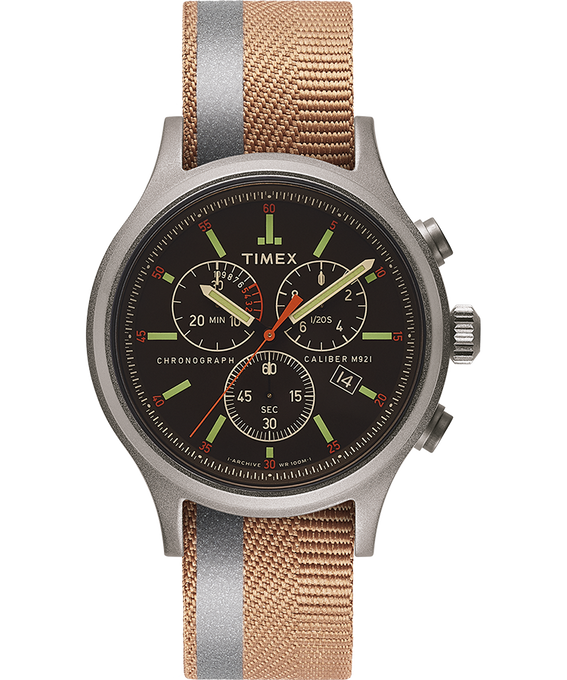 Allied Chrono with Reflective and Reversible Strap  large