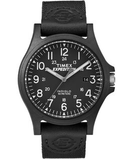 Expedition Metal Field with Compass 40mm Fabric Strap Watch Black large