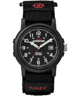 Expedition Camper 38mm Nylon Strap Watch Black large