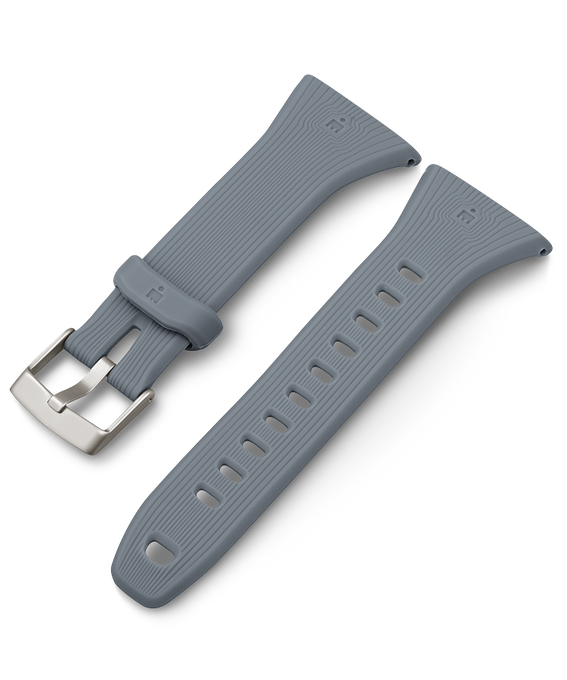 18mm Resin Strap Gray large