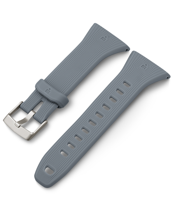 21mm Silicone Strap Gray large