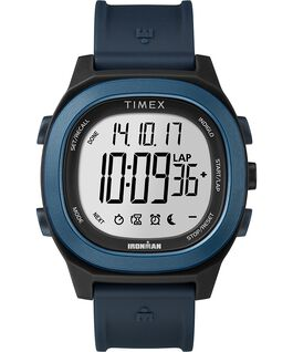 Ironman Transit 40mm Full Size Resin Strap Watch Blue large