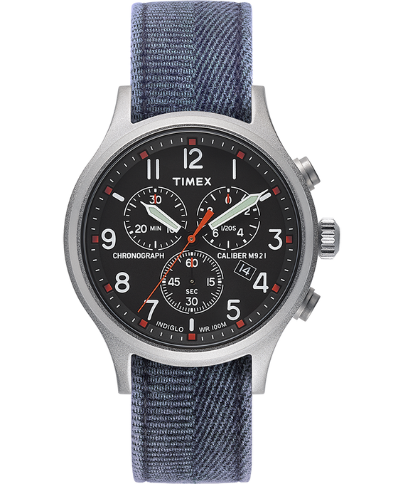 Allied Chrono with Stone Washed Strap  large