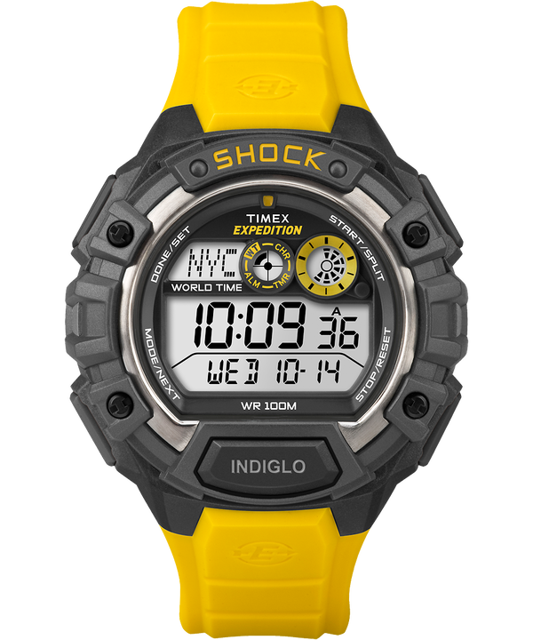 Expedition® Global Shock Black/Yellow/Gray large