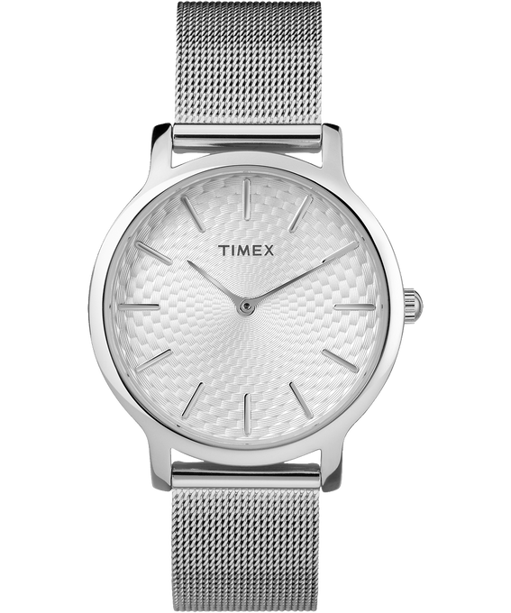 Metropolitan 34mm Stainless Steel Watch
