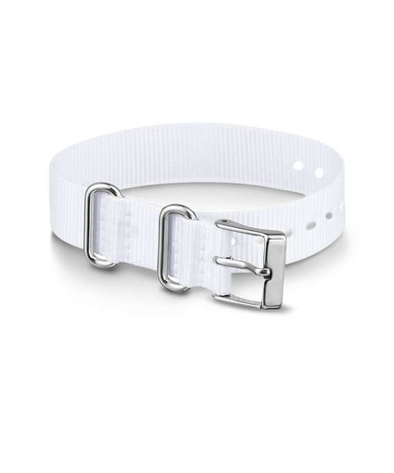 16mm Nylon Strap White large