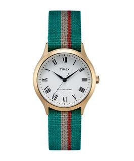 Whitney Avenue 36mm Reversible Grosgrain Strap Watch  large