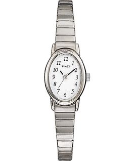 Cavatina 18mm Stainless Steel Watch Silver-Tone/White large