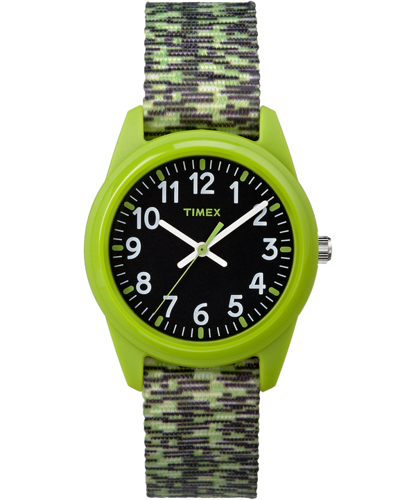 Kids Analog 32mm Digipattern Nylon Strap Watch  large