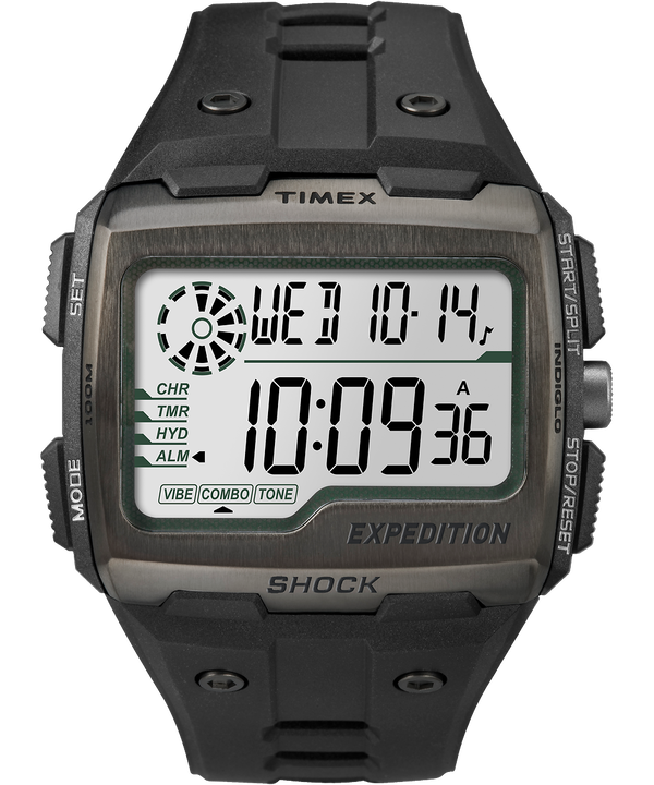 Expedition® Grid Shock Black/Gray large