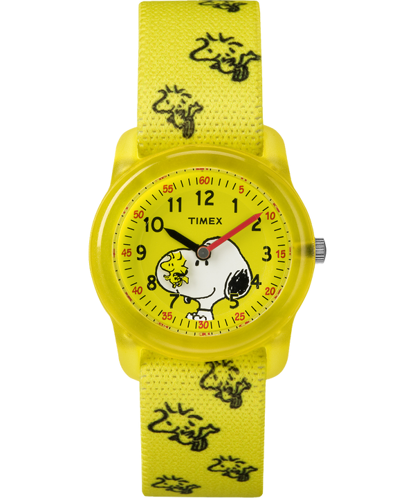 Peanuts 28mm Elastic Fabric Strap Watch  large