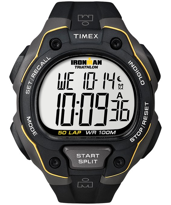 IRONMAN Classic 50 Full-Size 43mm Resin Strap Watch  large