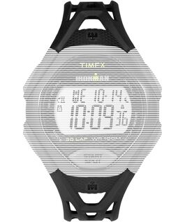 Replacement 17mm Resin Strap for Ironman Sleek 30 Full-Size Black large