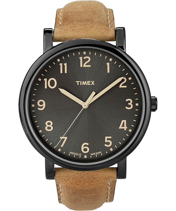 Originals Oversized with Numbers Leather Watch  large