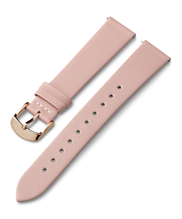 18mm Leather Strap Pink large