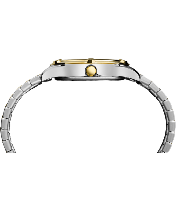 Easton Avenue 39mm Two-Tone Bracelet Expansion Band Two-Tone/White large
