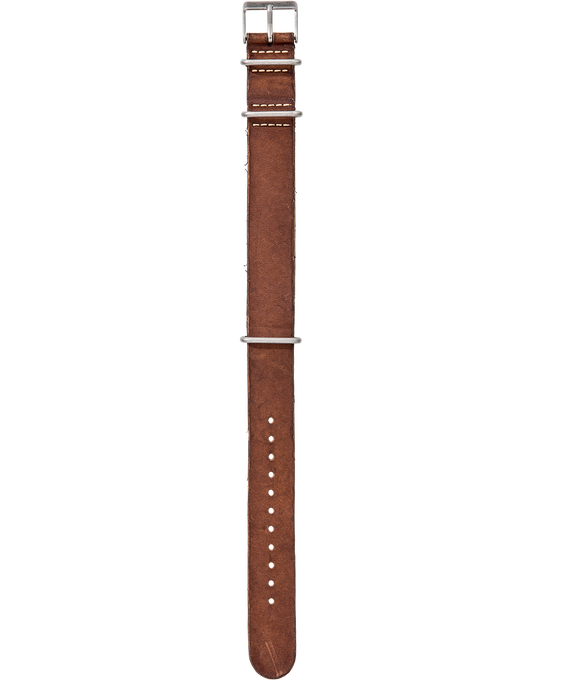 Stone Washed Leather 19mm Slip-Thru Strap  large
