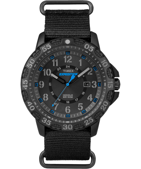 Expedition Gallatin 44mm Nylon Strap Watch  large
