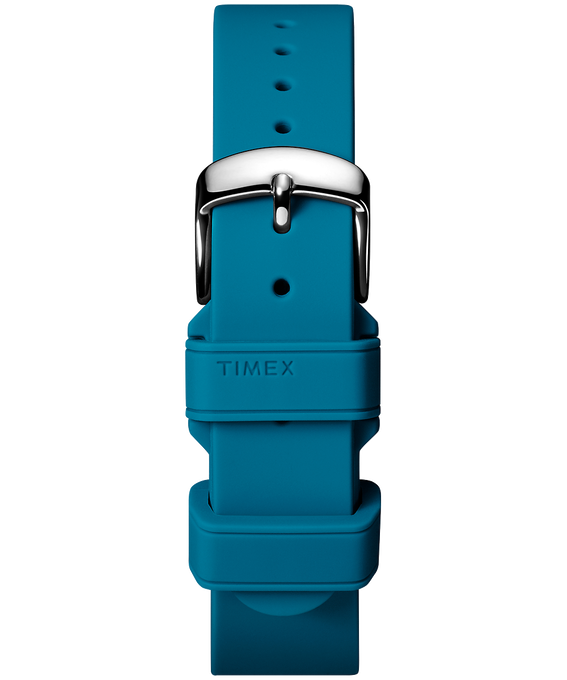 18mm Silicone Strap Blue large