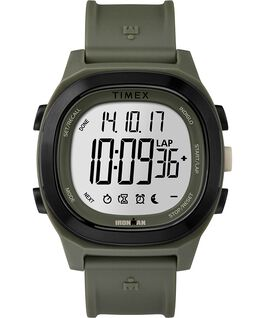 Ironman Transit 40mm Full Size Resin Strap Watch Green large