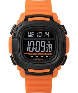 BST.47 47mm Silicone Strap Watch Orange/Black large