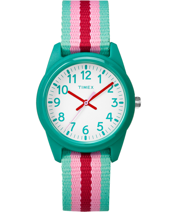 30mm Kids Striped Nylon Analog Watch  large