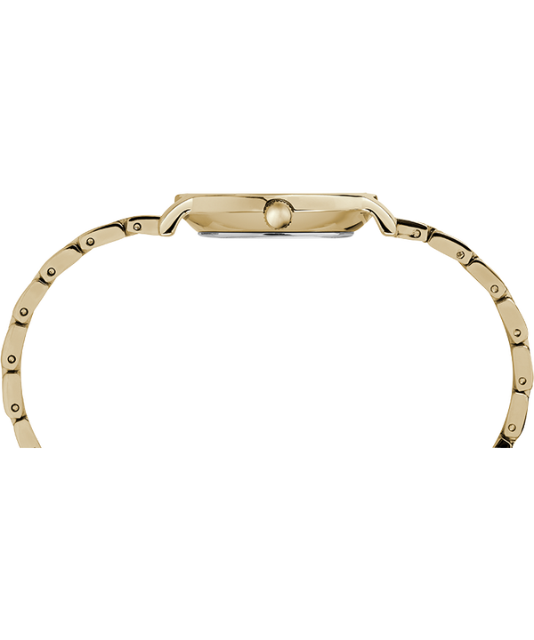 Milano Oval 24mm Stainless Steel Bracelet Watch Gold-Tone/Silver-Tone large